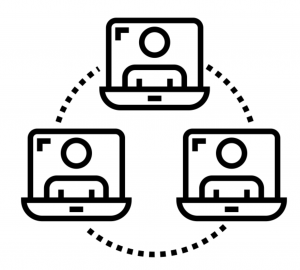 Online collaboration by ProSymbols from the Noun Project